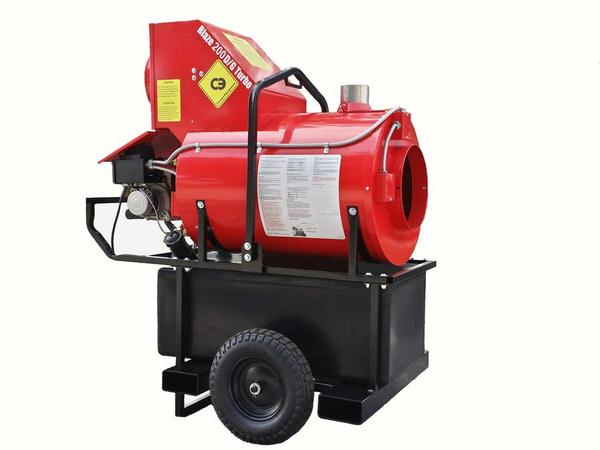 Portable Heaters - West County Equipment Rental